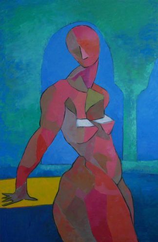 Ta - Goddess waiting - 80 x 120 - 27