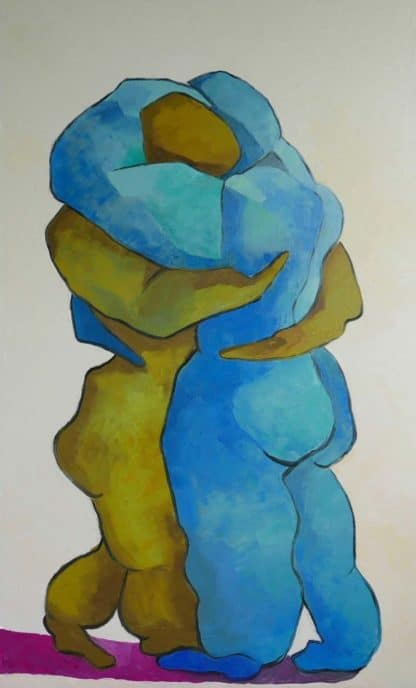 Ta - Lovers dancing - 80 x 130 - 27