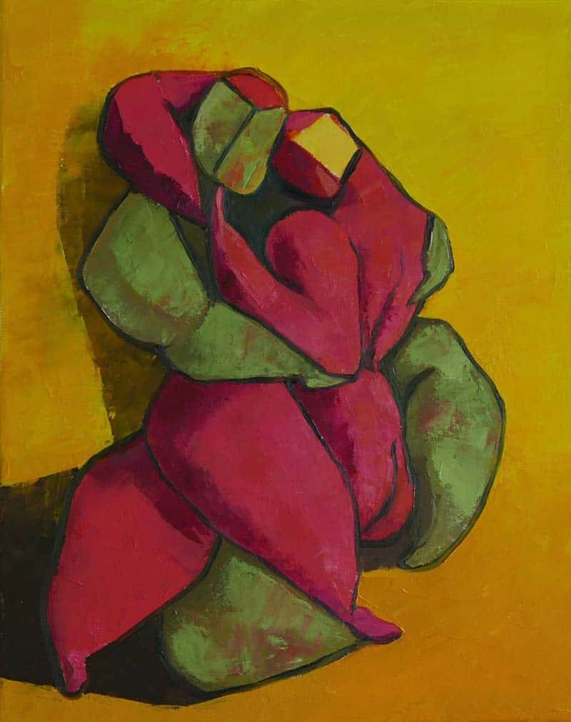 Ta - The lovers in arms - 40 x 50 - 11