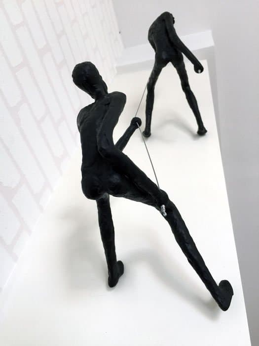 Climbing Man Wall Sculpture Buy Art Online