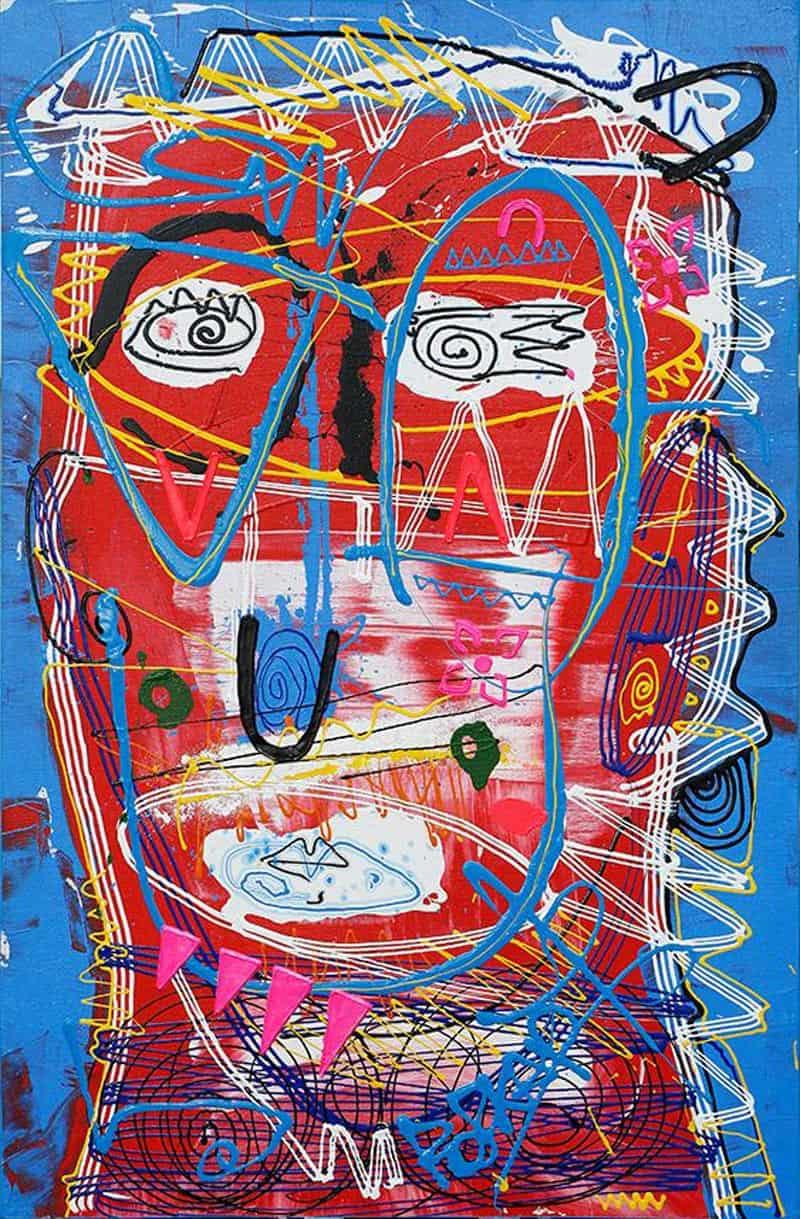 Jakkrit - Painting 79 - 80 x 120 - 20
