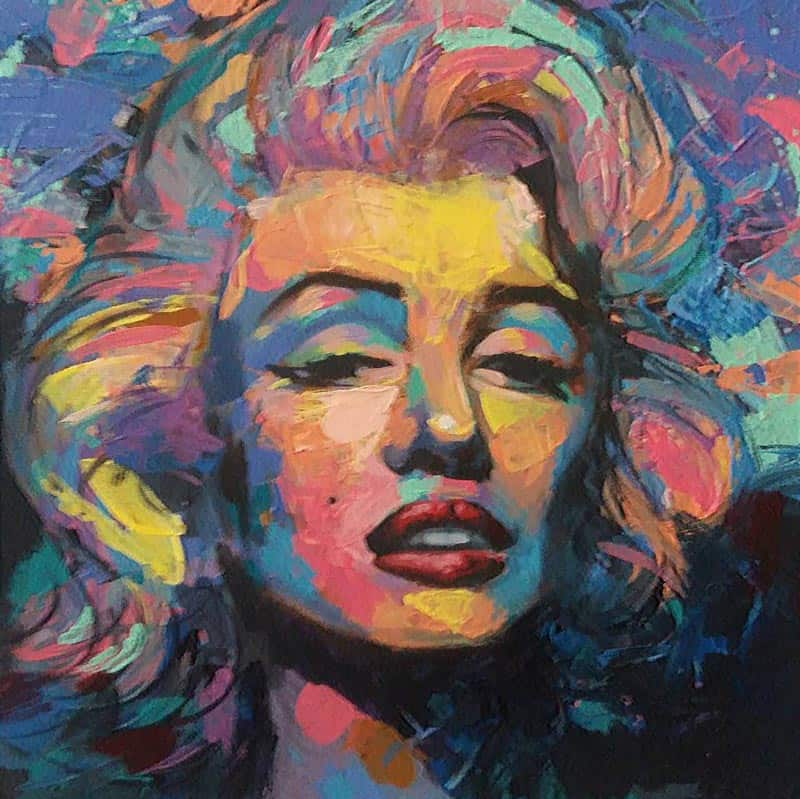 Paa - Marilyn (Colors) - 40 x 40 - 4