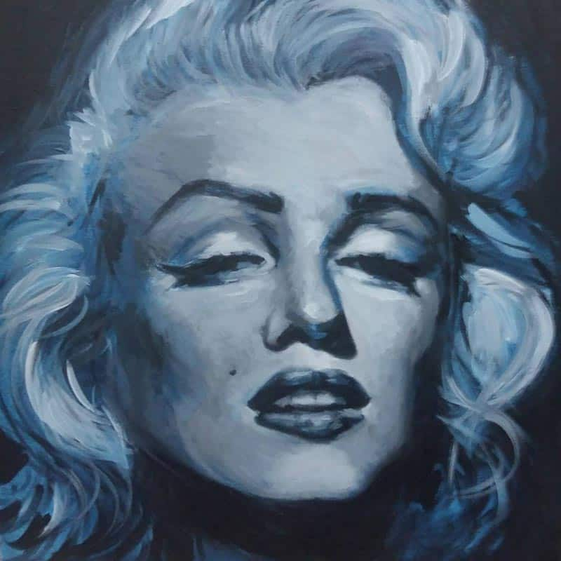 Paa - Marilyn (Monochrome) - 40 x 40 - 4