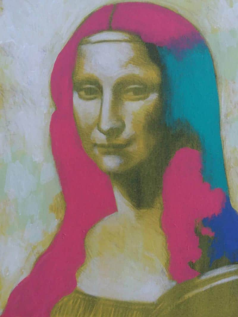 Paa - Mona lisa 02 - 40 x 50 - 5