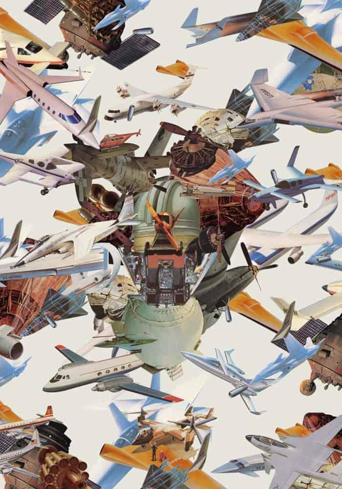 Pariwat - Strange Little AirCraft - 60 x 84 - 12