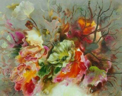 Tor - Flower 46 - 150 x 120 - 18