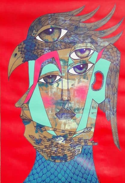 Vatcharapong - Painting 17 - 54-5 x 79 - 20