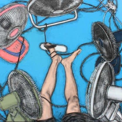 Warawut - Blowin' In the wind - 150 x 150 - 50