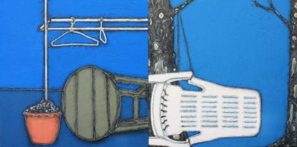 Warawut - Desultory No. 2 - 300 x 150 - diptych - 70
