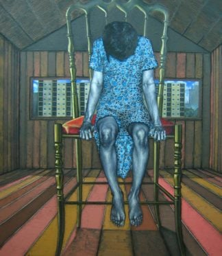Warawut - On the chair in the room and the out side - 196 x 220 - 130