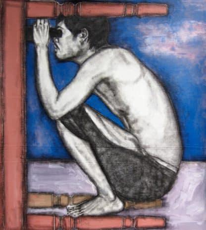 Warawut - Use Binoculars Under The Table - 100 x 115 - 30