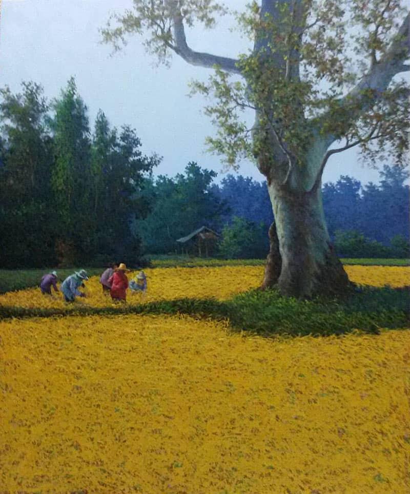 Anurak - Farmers 74 - 100 x 120 - 12