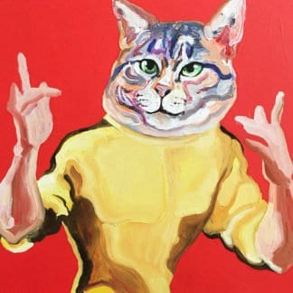 Gee - Game of Cat - 70 x 70 - 15