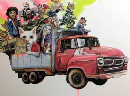 Gee - Truck me (Again) - 135 x 100 - 40