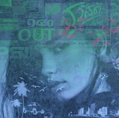 Kee - Green (gd) no 01 - 80 x 80 - 15