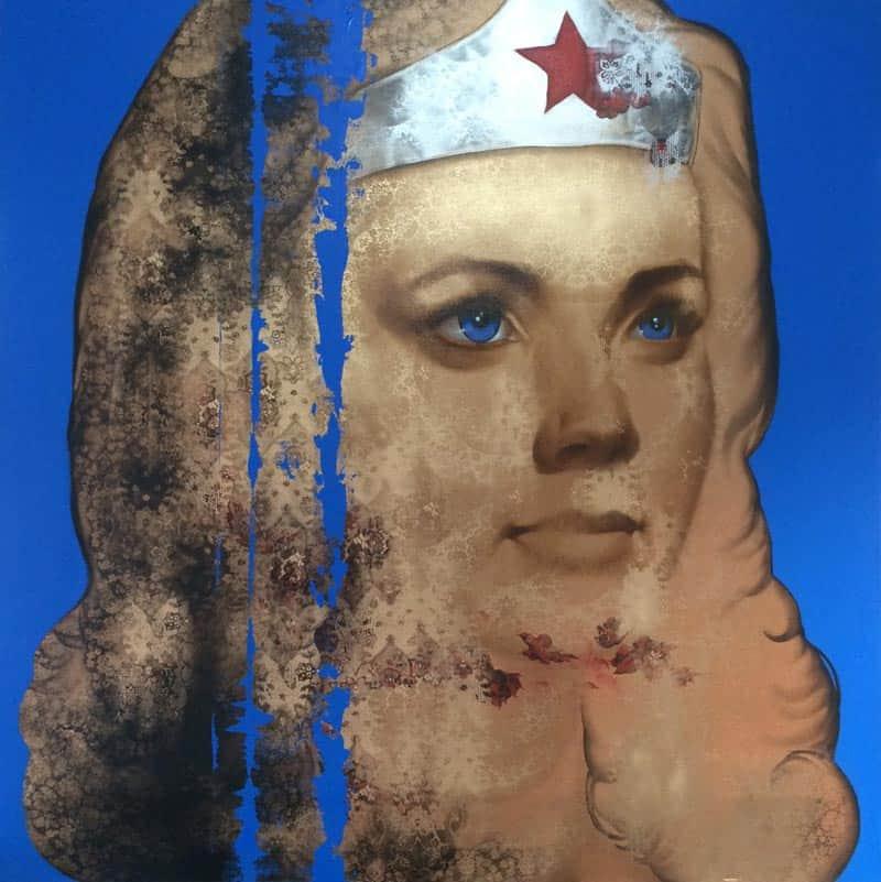 M.CH.R. - Wonder Woman - 130 x 130 - 25