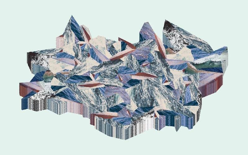 Pariwat - Ice Land 04 - 80 x 50 - 8