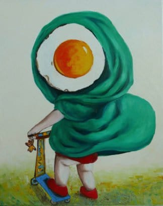 Ta - Little Egg Riding Hood - 40 x 50 - 10-6