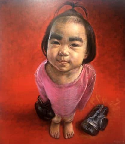 Thitithep - Boxing Girl 05 - 130 x 150 - 48