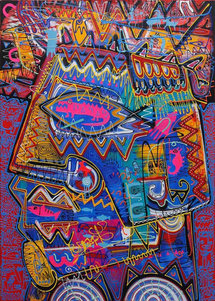 Jakkrit - Painting 81 - 120 x 170 - 35