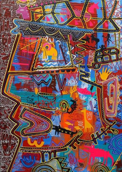 Jakkrit - Painting 82 - 120 x 170 - 35