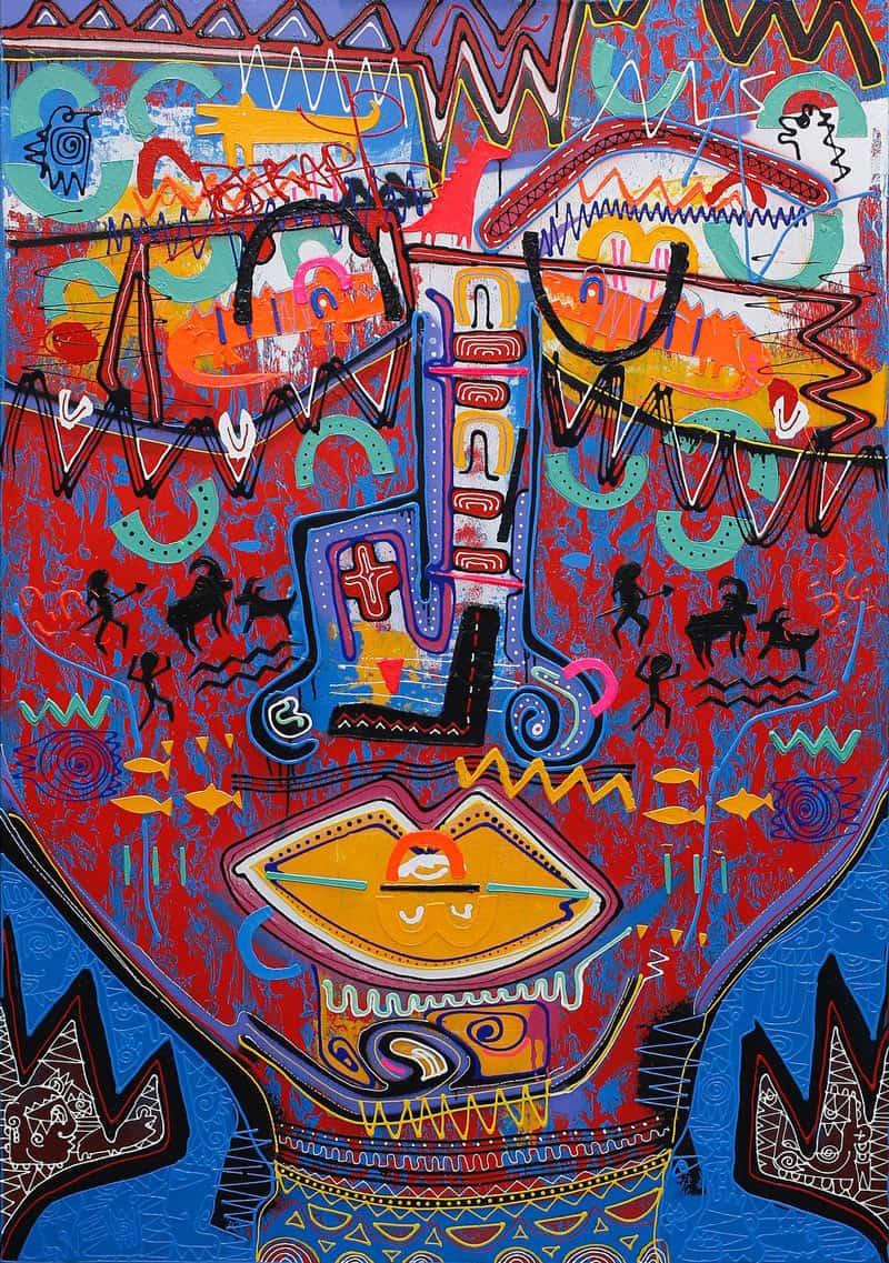 Jakkrit - Painting 84 - 120 x 170 - 35