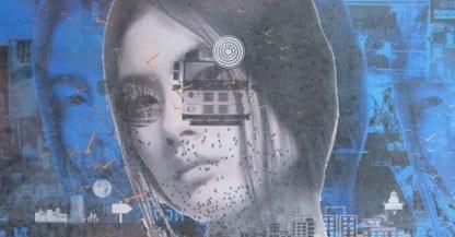 Kee - pop art 21 - 150 x 70 - 25