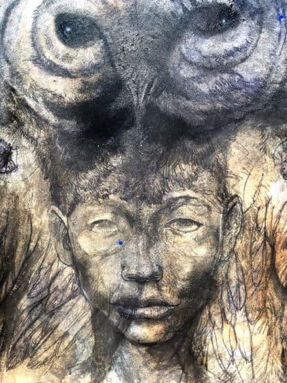 Mitr - Painting 17 - 130 x 150 - 22