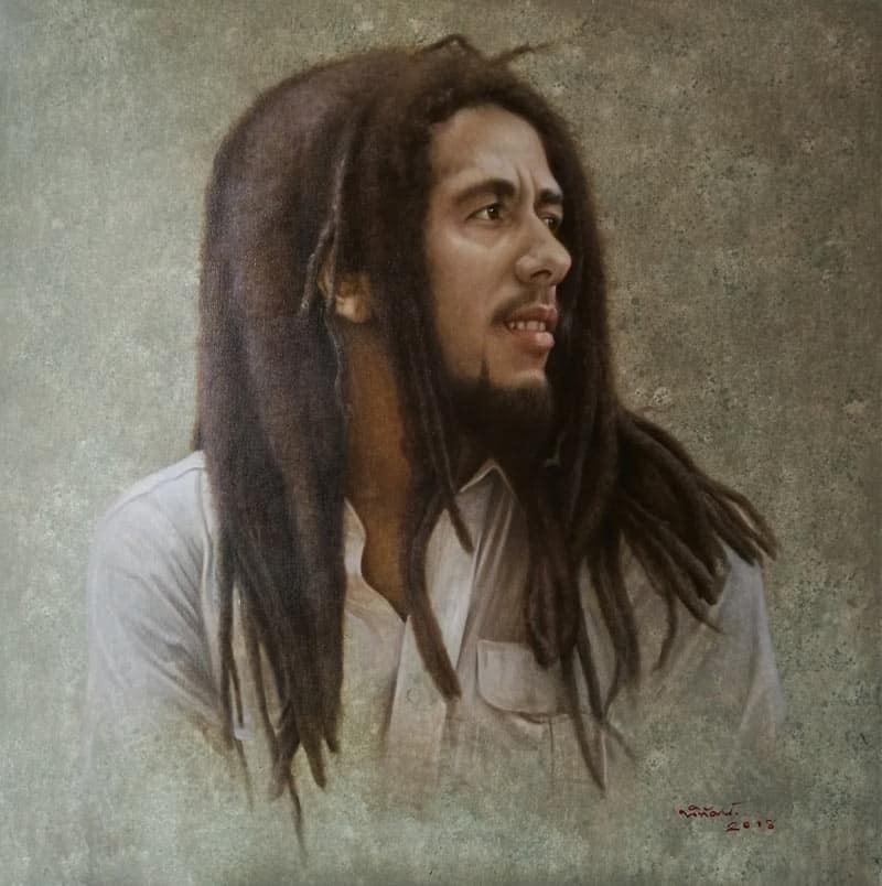 Nithat - Bob Marley - 120 x 120 - 20