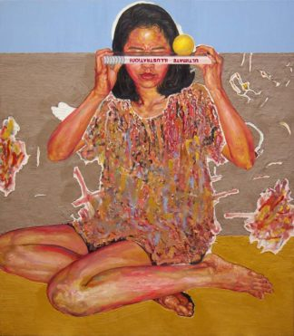 Warawut - The horizon line of illustration in painting - 160 x 140 - 140