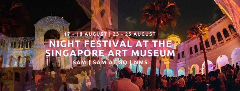 Singapore Art Museum - Singapore Night Festival at SAM