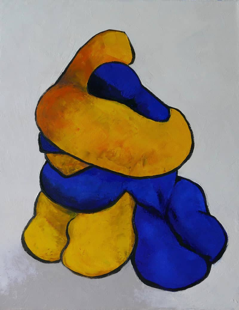 Ta - Lovers Hugging - 40 x 50 - 13-5