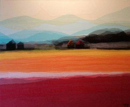 Tanarug – Collage Fabric Scenery 18 - 120 x 100 -18