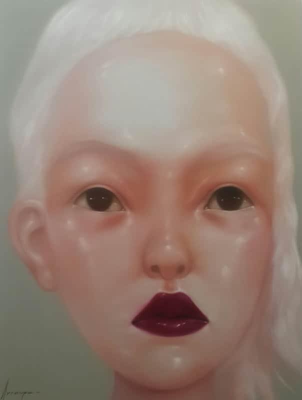 Aranya - Portrait 51 - 80 x 90 - 18