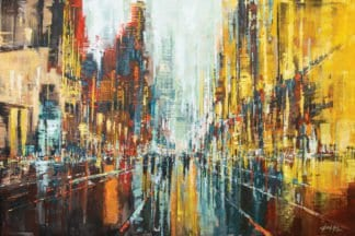 Gittisak - After The Rain - Diptych - 180 x 120 - 25