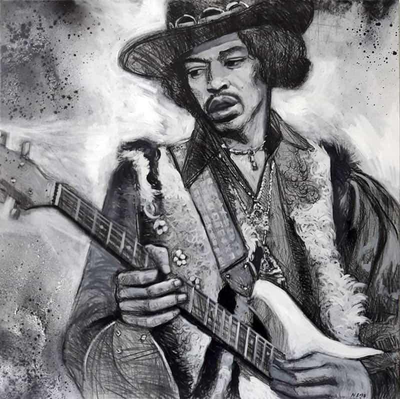 Paa - Jimi Hendrix - 100 x 100 - 12