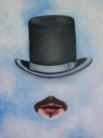 Ta - Face in the clouds - 60 x 80 - 22-5