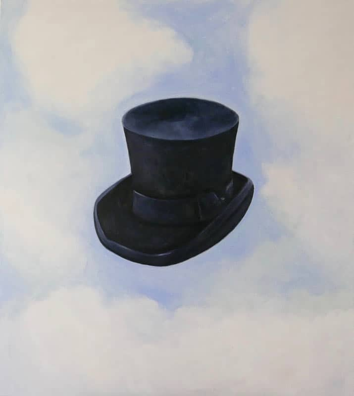 Ta - Hat in the clouds - 90 x 100 - 22-5