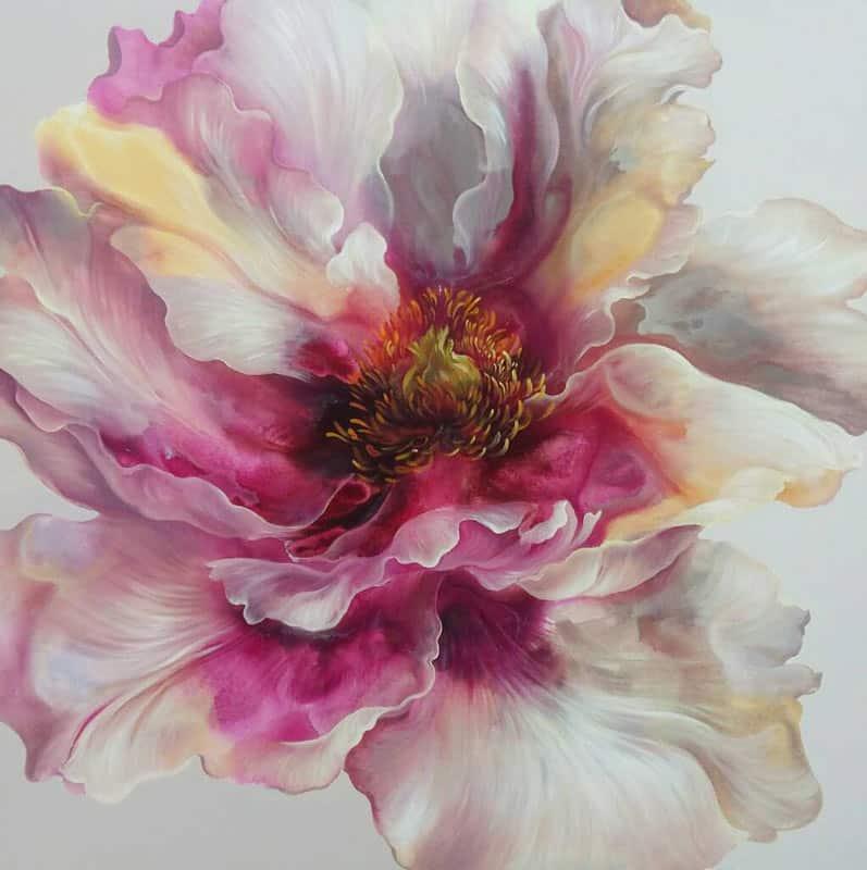 Tor - Flower 48 - 100 x 100 - 15