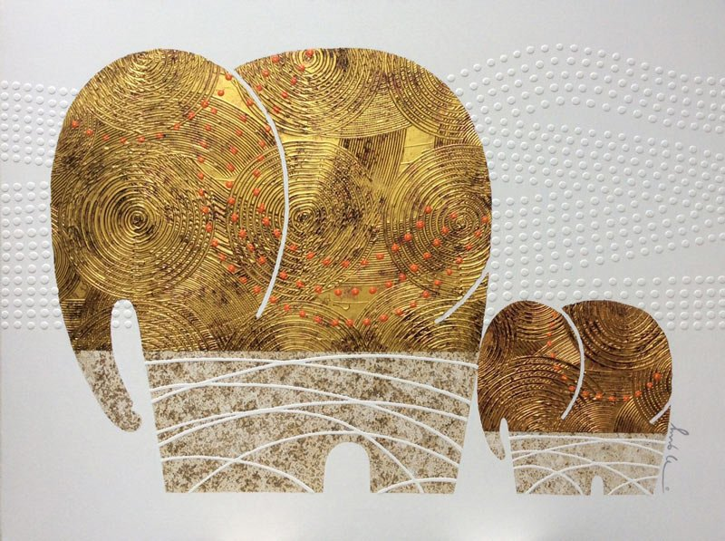 Bui – Gold Elephant 29 - 120 x 90 - 18
