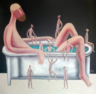 Gitti - Bath - 100 x 80 - 7