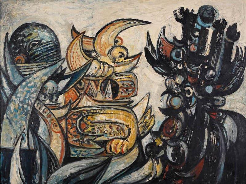 Ilham Gallery - Latiff Mohidin - Pago Pago (1960 - 1969)