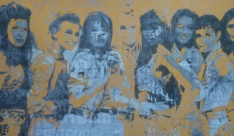 Kee – pop art 24 - 85 x 50 - 10