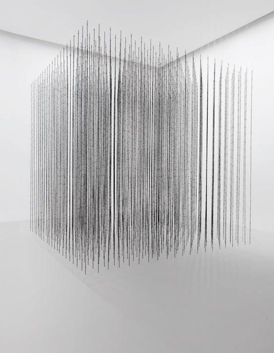 National Gallery Singapore - ArtScience Museum - Minimalism - Space - Light - Object - Mona Hatoum - Impenetrable