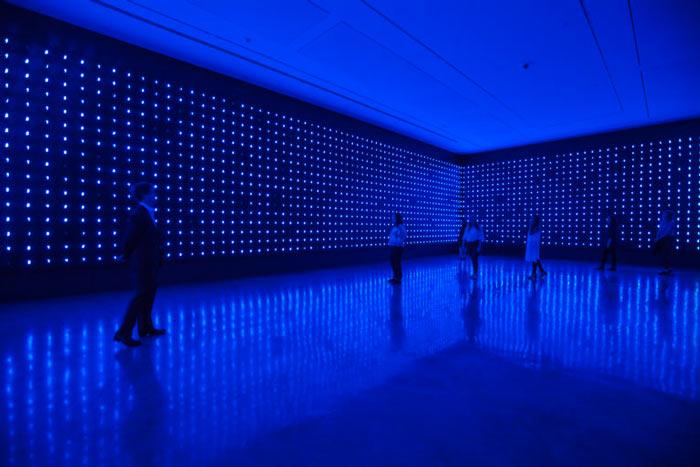 National Gallery Singapore - ArtScience Museum - Minimalism - Space - Light - Object - Tetsuo Miyajima Mega Death 01