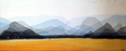 Tanarug – Collage Fabric Scenery 21 - 195 x 80 - 20