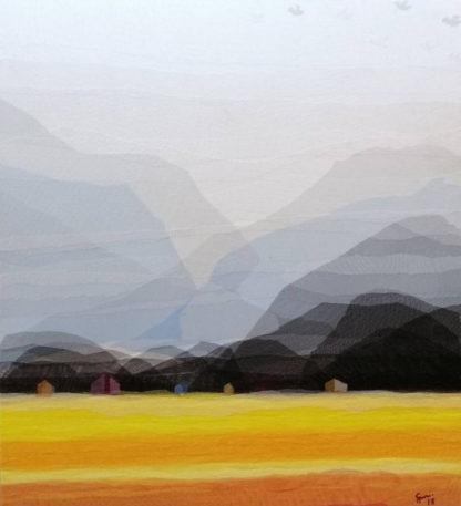 Tanarug - Collage Fabric Scenery 22 - 100 x 110 - 15