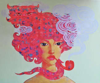 Vatcharapong – Woman Portrait 28 - 180 x 150 - 35
