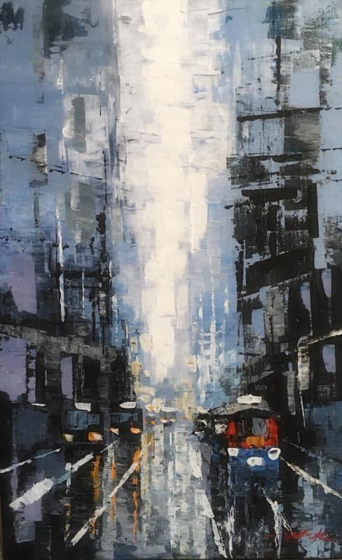 Warapote - Cityscape 25 - 50 x 80 - 4