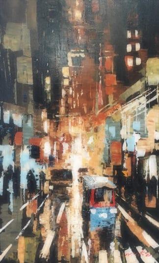 Warapote - Cityscape 26 - 50 x 80 - 4